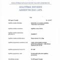 Angļu valodas akreditācijas lapa