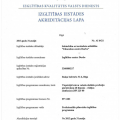 Krievu valodas akreditācijas lapa
