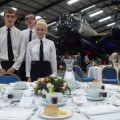Boston College: catering course students