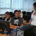 Boston College: IT course students